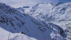 Dojście do schroniska Langtalerhütte 2450m