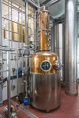 Two new copper stills at Adnams