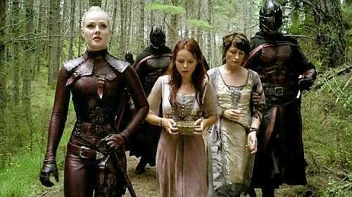 Jessica Marais as Denna in Legend of the Seeker
