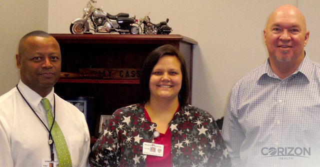 Missouri Director of Nursing named 'Employee of the Month' by client partner