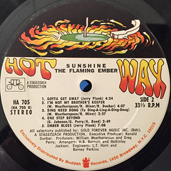 FLAMING EMBER:SUNSHINE(LABEL SIDE-B)