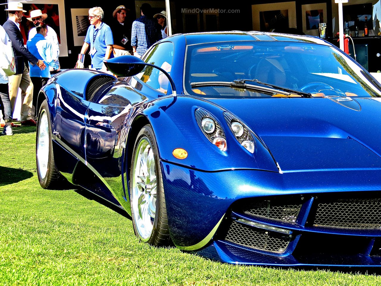 Pagani Huayra Blue Carbon The Quail 5