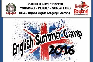 Noicattaro. English Summer Camp Pende front