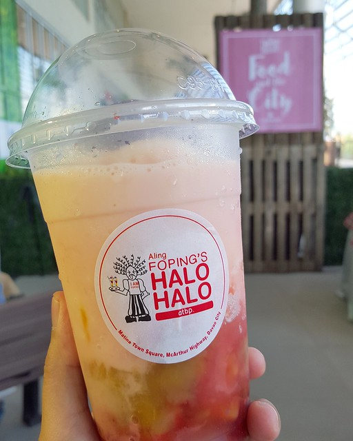 Aling Foping's Halo Halo | Davao Gourmet Collective 2016: Food and the City at SM Lanang Premier - DavaoFoodTripS.com
