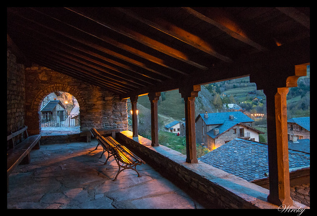 Balcón de la Iglesia de Sant Climent de Pal