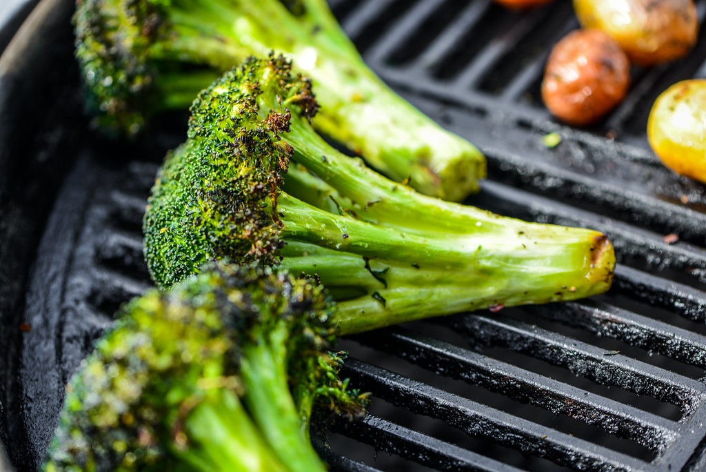 Simple Grilled Broccoli
