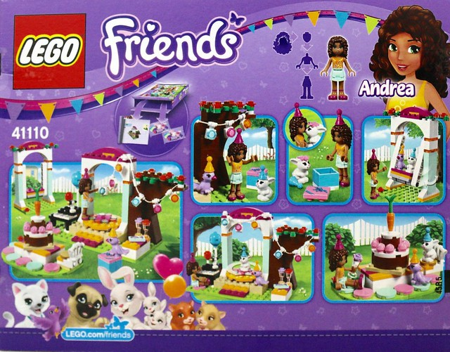 Review: Friends Birthday Party sets | Brickset: LEGO set guide and ...