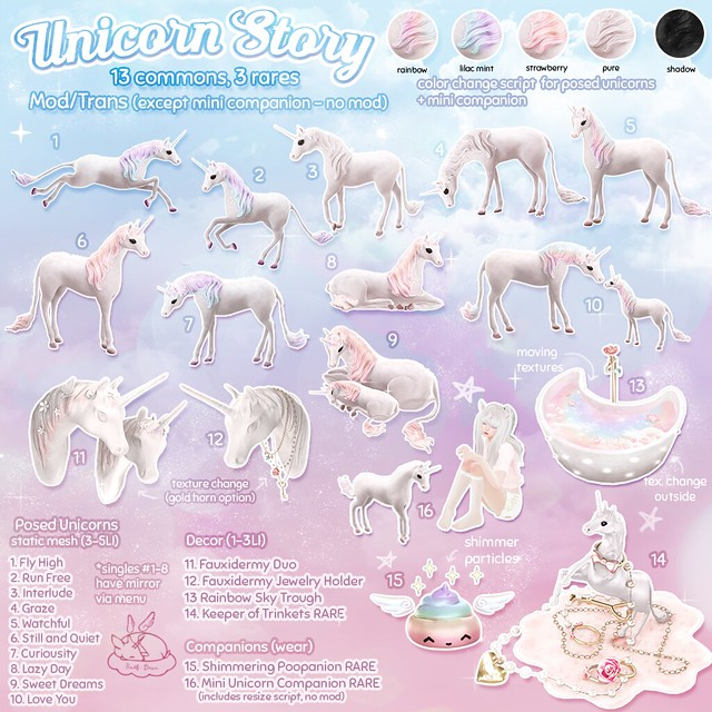 +Half-Deer+ Unicorn Story - Key - The Arcade