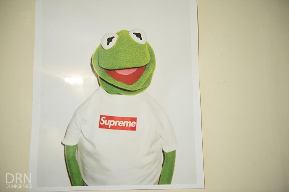 Kermit Supreme.