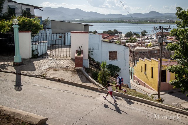 Her shadow in the opposite direction, Santiago de Cuba, Cuba (2015)