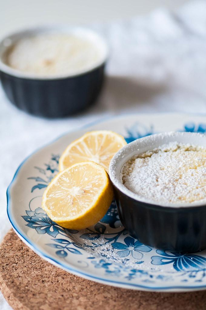 Individual Irish Lemon Pudding 5
