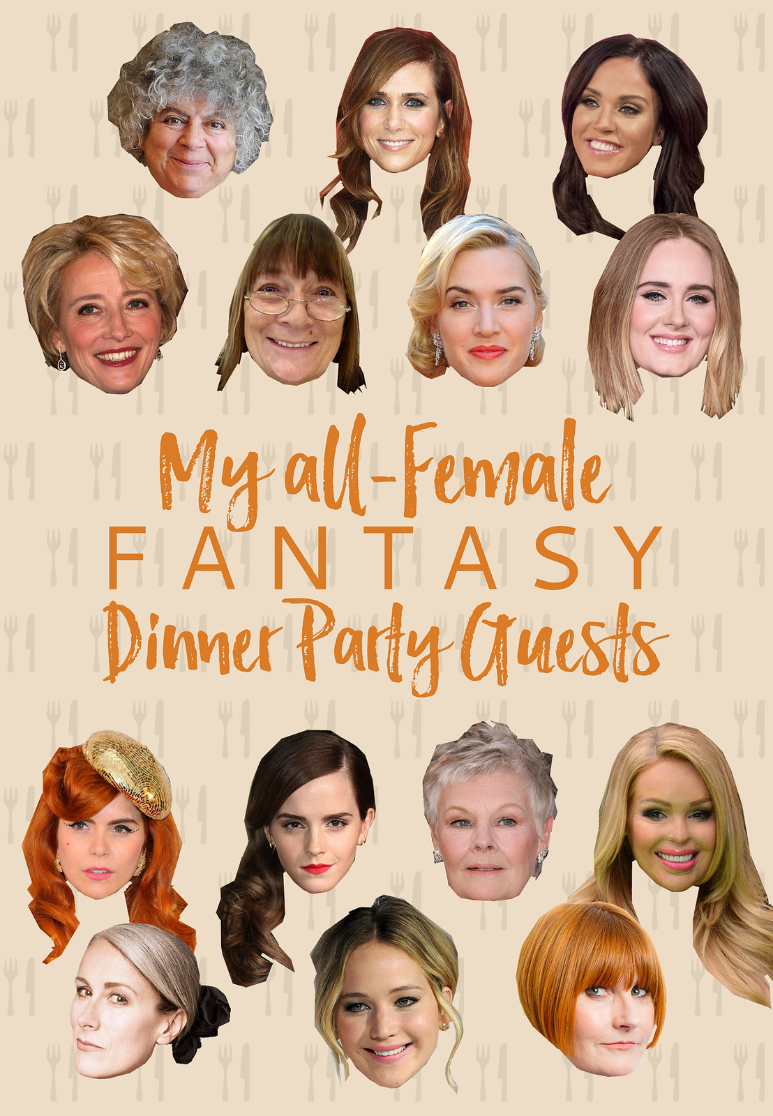 My All-Female Fantasy Dinner Party Guests | International Women's Day #IWD2016