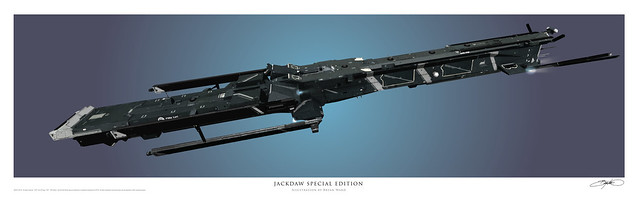 Jackdaw Special Edition Art Print