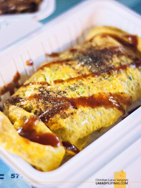 Macau Food Festival Omelette