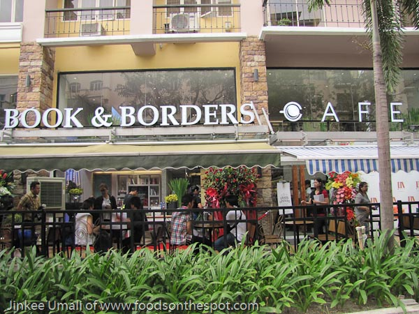 Read, Dine With Book and Borders Cafe