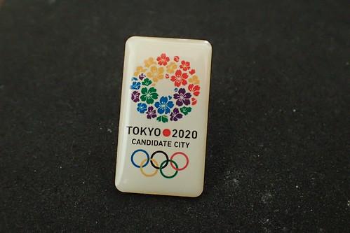 東京オリンピック招致ピンバッジ