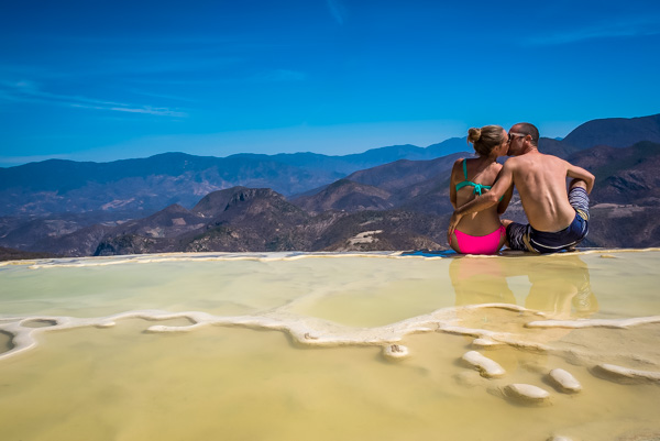 A Cruising Couple At Hierve el Agua