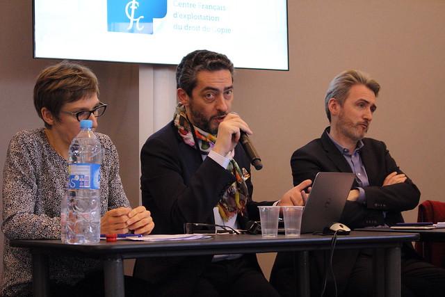Philippe Masseron, directeur du Centre Français d'exploitation du droit de Copie