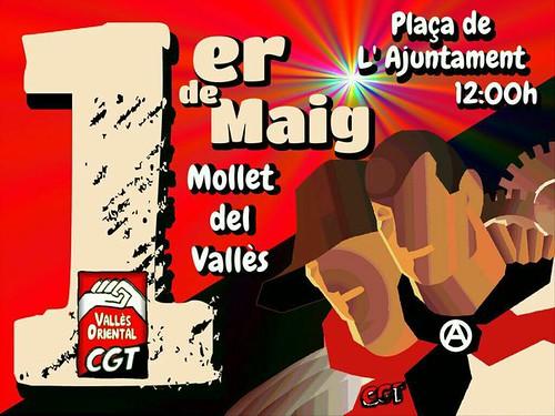 1 de Maig 2016 Mollet del Vallès