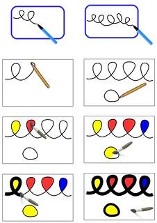 Images séquentielles - Boucles à la manière de Calder