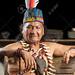 Amazonian shaman portrait