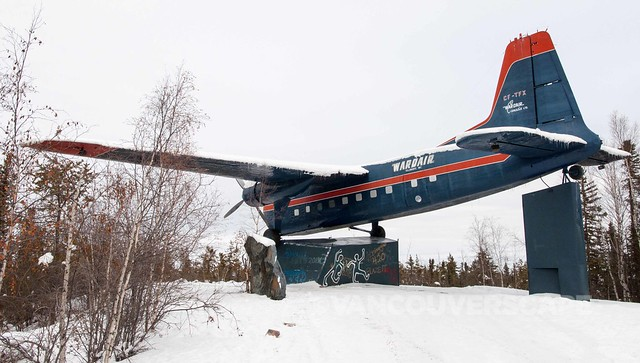 Bristol Freighter, the first plane to land on North Pole on wheels