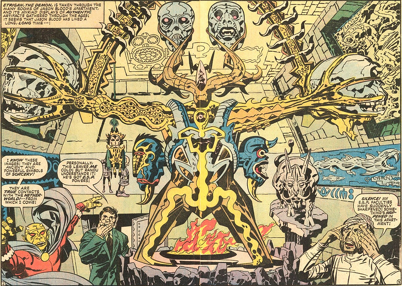 "Jack Kirby - Interior art from ""The Demon"" Issue 8, April 1973"