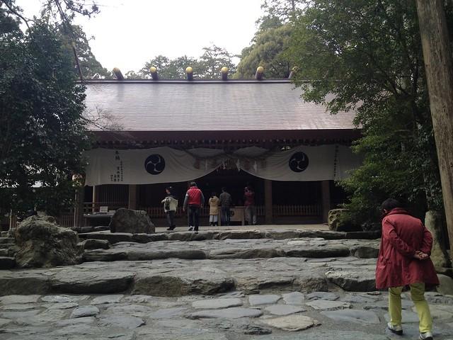 入道ヶ岳 椿大神社 拝殿
