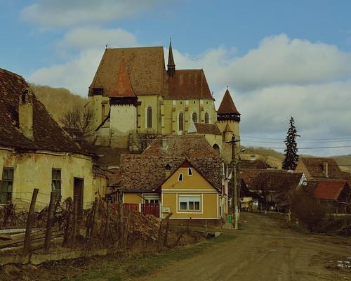 romania transylvania biertan fortifiedchurch