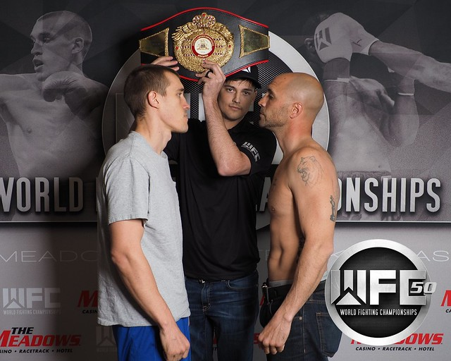WFC 50 Weigh-Ins April 8th,2016