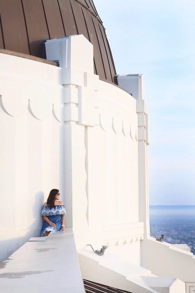 simplyxclassic, miriam gin, visiting the griffith observatory, los angeles, fashion blogger, travel, griffith observatory engagement photos