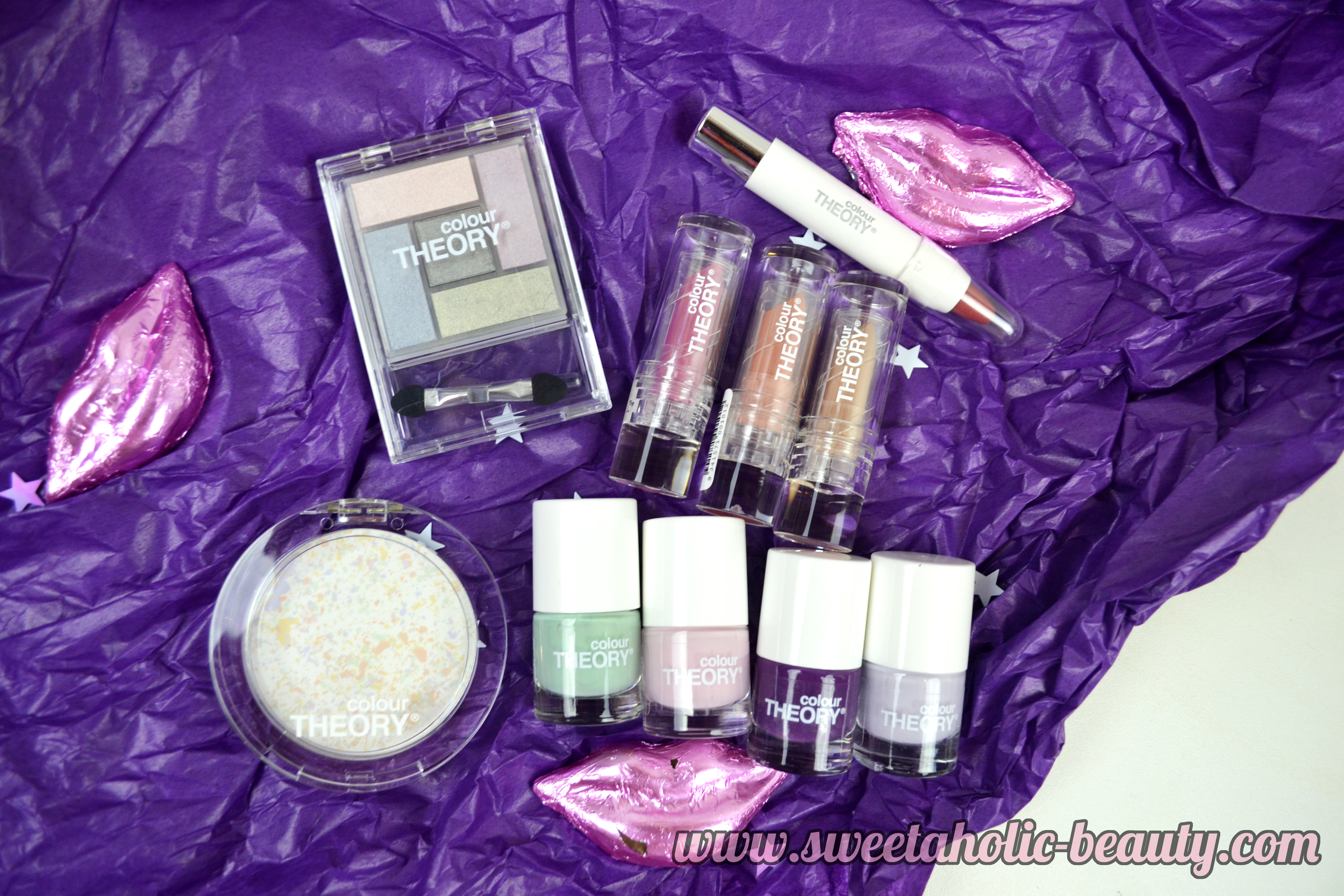 Colour Theory Nordic Light Collection First Impression & Swatches - Sweetaholic Beauty