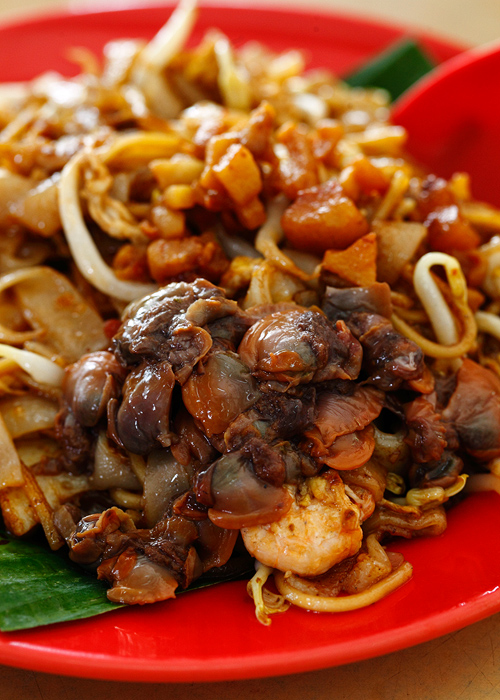 Fresh Cockles Char Koay Teow Mee