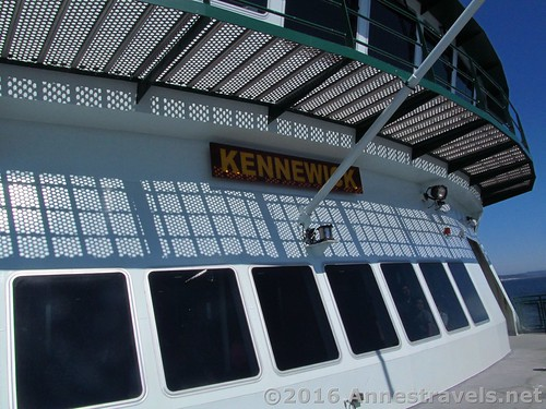The Kennewick Ferry, Port Townsend Ferry, Washington