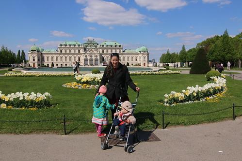 Upper Belvedere gardens