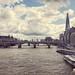The London skyline by oceanebelle