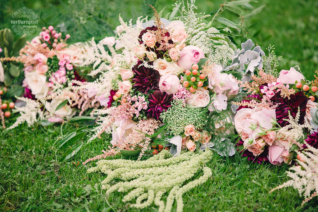 Backyard Wedding Bouquet - Prince George BC Princess Flowers