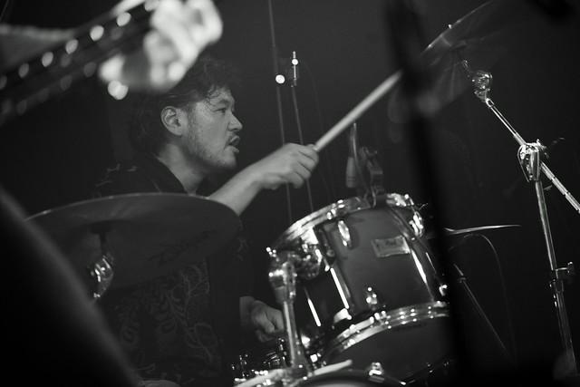 RoundFace live at 獅子王, Tokyo, 22 Jan 2016. 090
