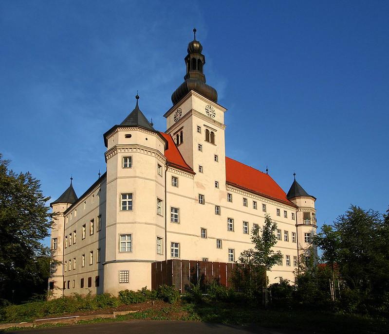 Schloss Hartheim, seen from the west