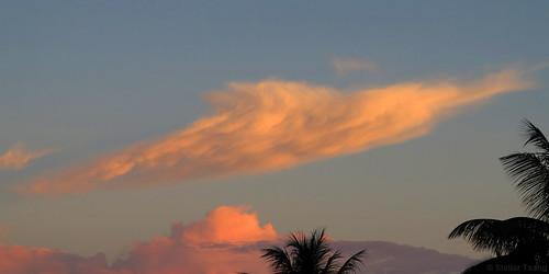 sky cloud clouds sunrise heaven dolphin suriname paramaribo leonsberg surinameriver cloudspotting cloudspotter dolphinshaped leonsbergdock