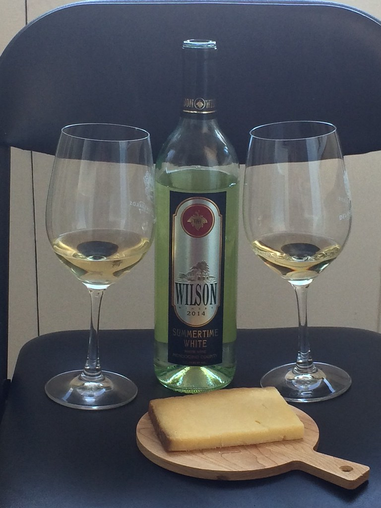 Summertime White Blend and Fiscalini Bandaged Cheddar 1