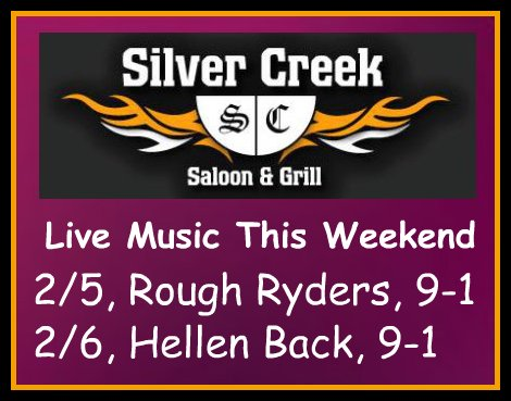 Silver Creek Poster 2-5, 2-6-16