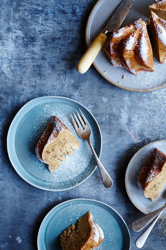Olive Oil & Walnut Cake