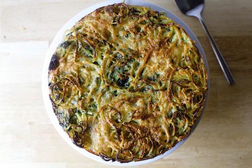 spaghetti pie with pecorino and black pepper2