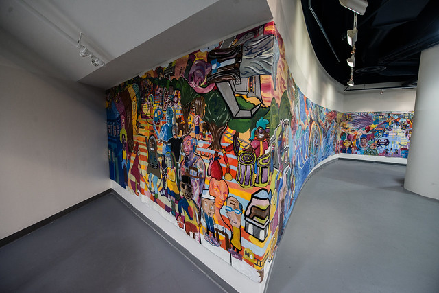 Photo of the mural featured in this article. Photo by Matailong Du.