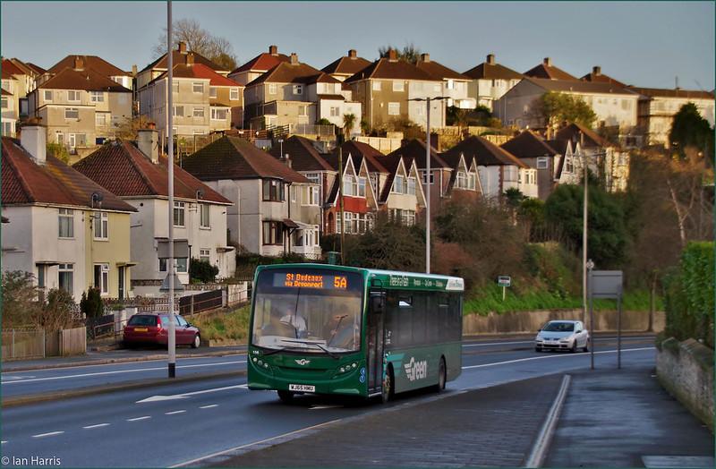 Plymouth Citybus 156 WJ65HMU