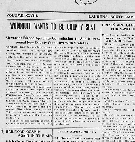 Woodruff Wants to Be County Seat