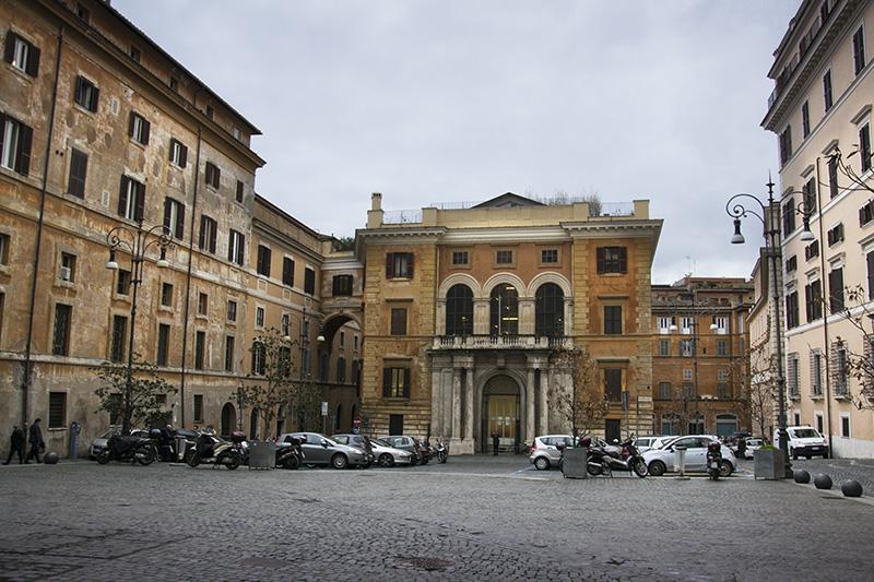 Rome Piazza Crociferi