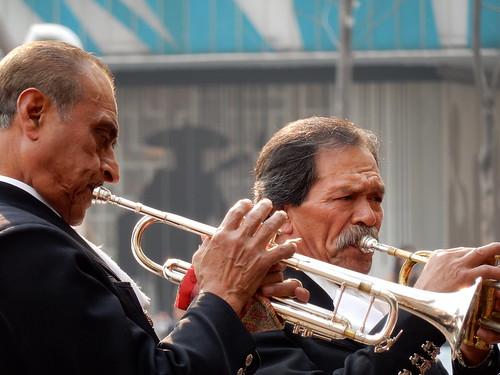 Ciudad Mexico - Plaza Garibaldi - Mariachi - 2