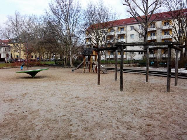 Spielplatz Stötteritz Thiemstraße verfällt weiter